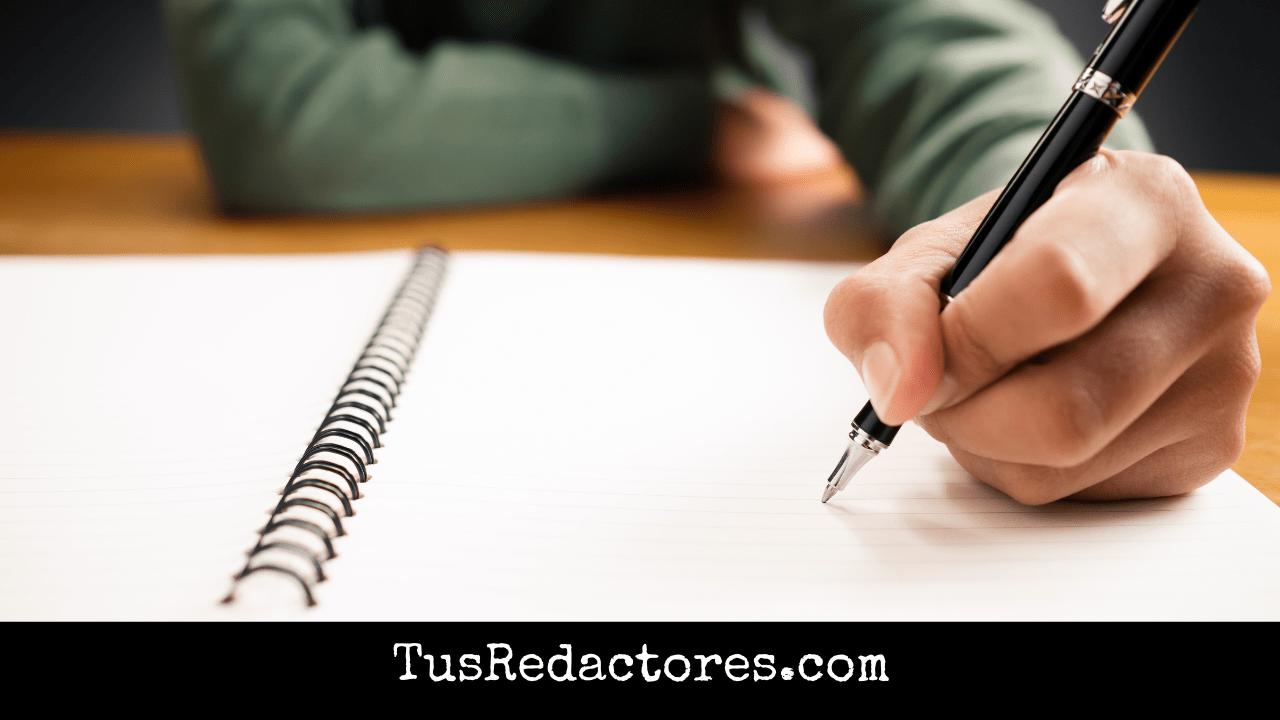 como aprender a redactar